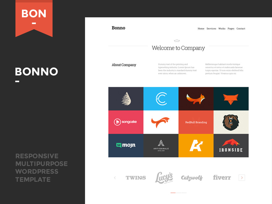 Bonno - Responsive Multipurpose WordPress Theme